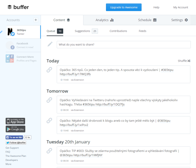 buffer-scheduled