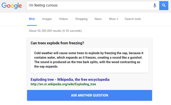google-i-am-feeling-curious