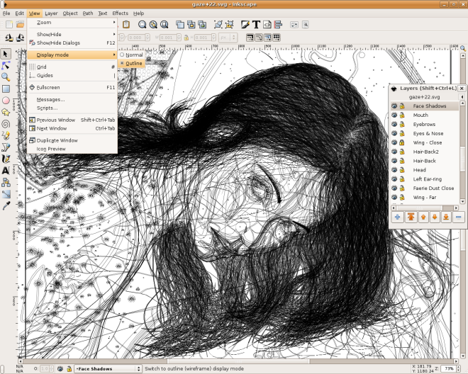 Inkscape - www.inkscape.org - zadarmo, Linux, Windows, MAC OS X. O