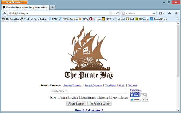 PirateBrowserScreenshot